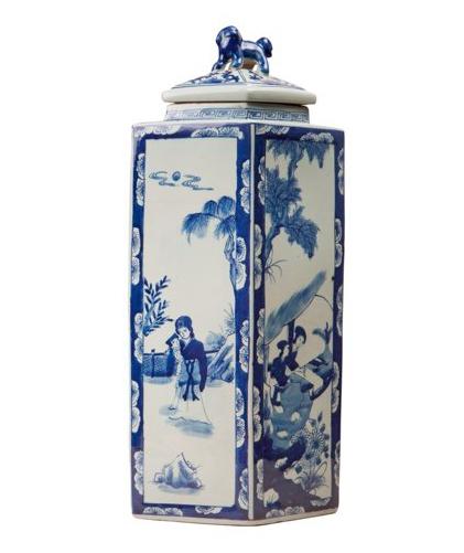 Chinoiserie Jar