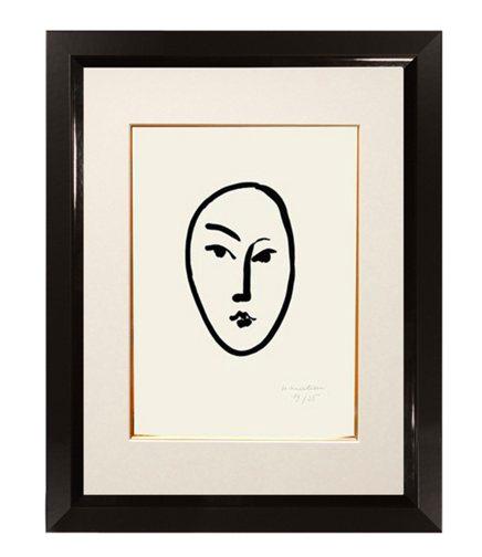 Framed Henri Matisse