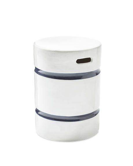 round sebastopol stool / $98