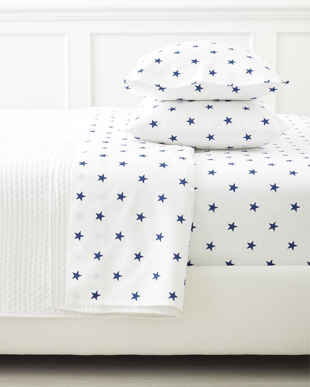 star sheet set / $79