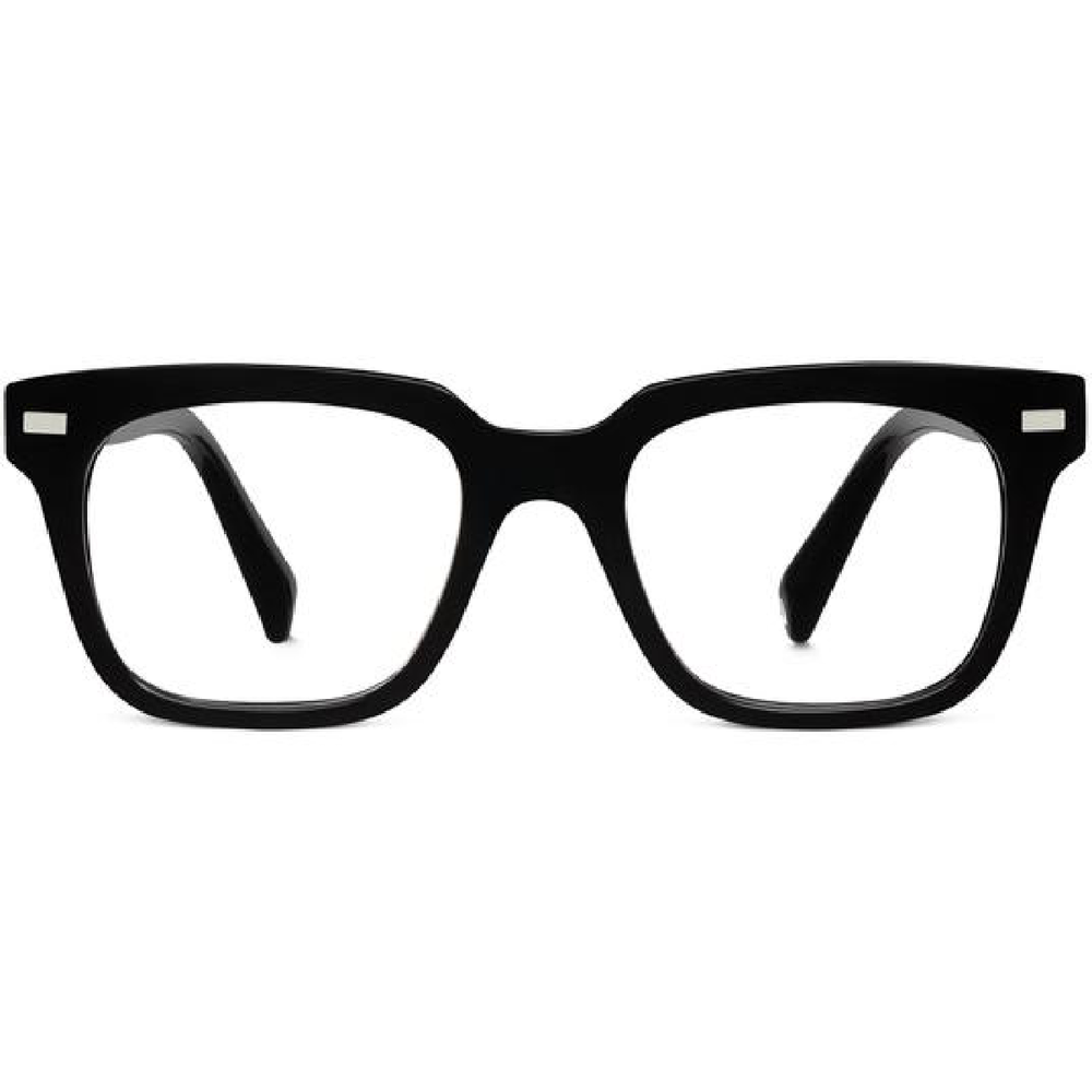 winston eyeglasses in jet black
