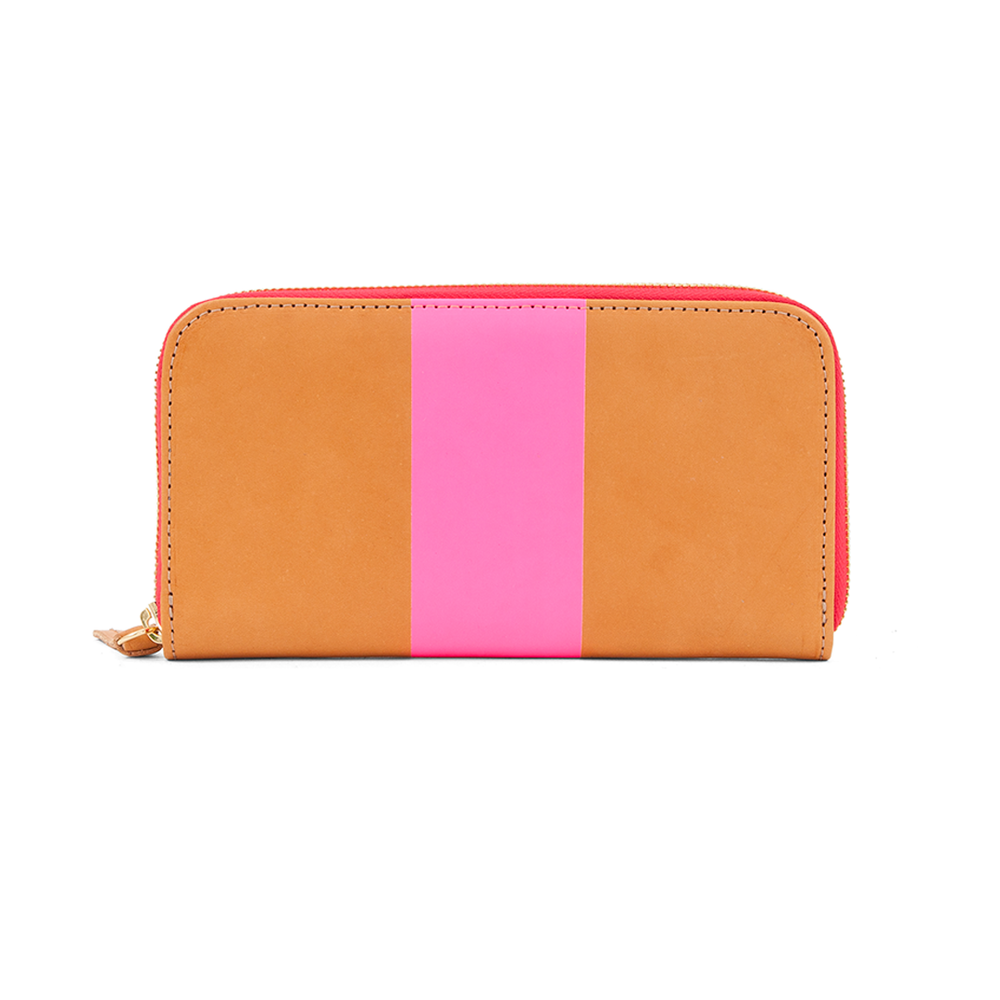 Zip-Wallet---Russet-with-Neon-Pink-Stripe---WA10001-429---Back.png