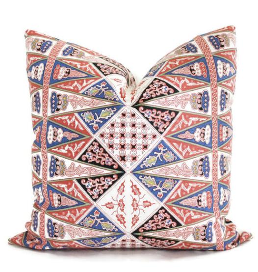 Quadrille Custom Pillow