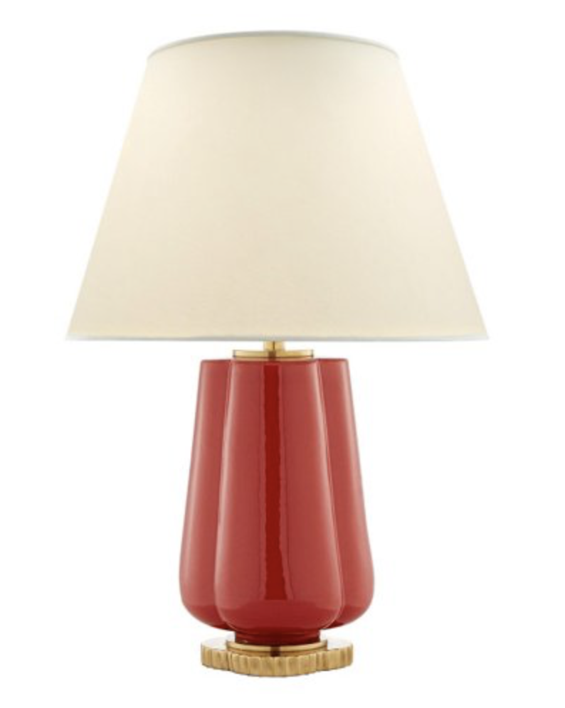 Berry Red Table Lamp