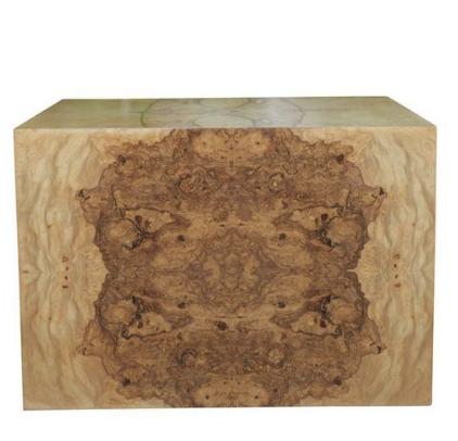 burlwood coffee table