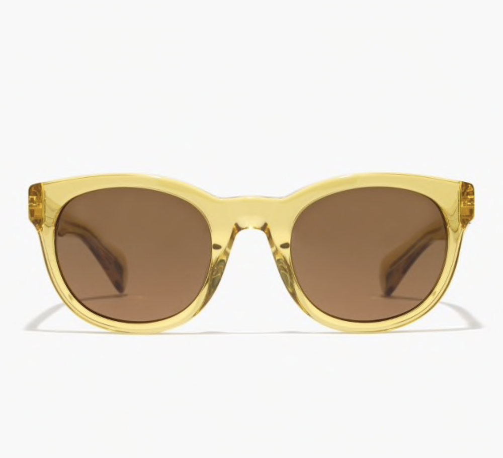 "yellow ""sam"" sunglasses"