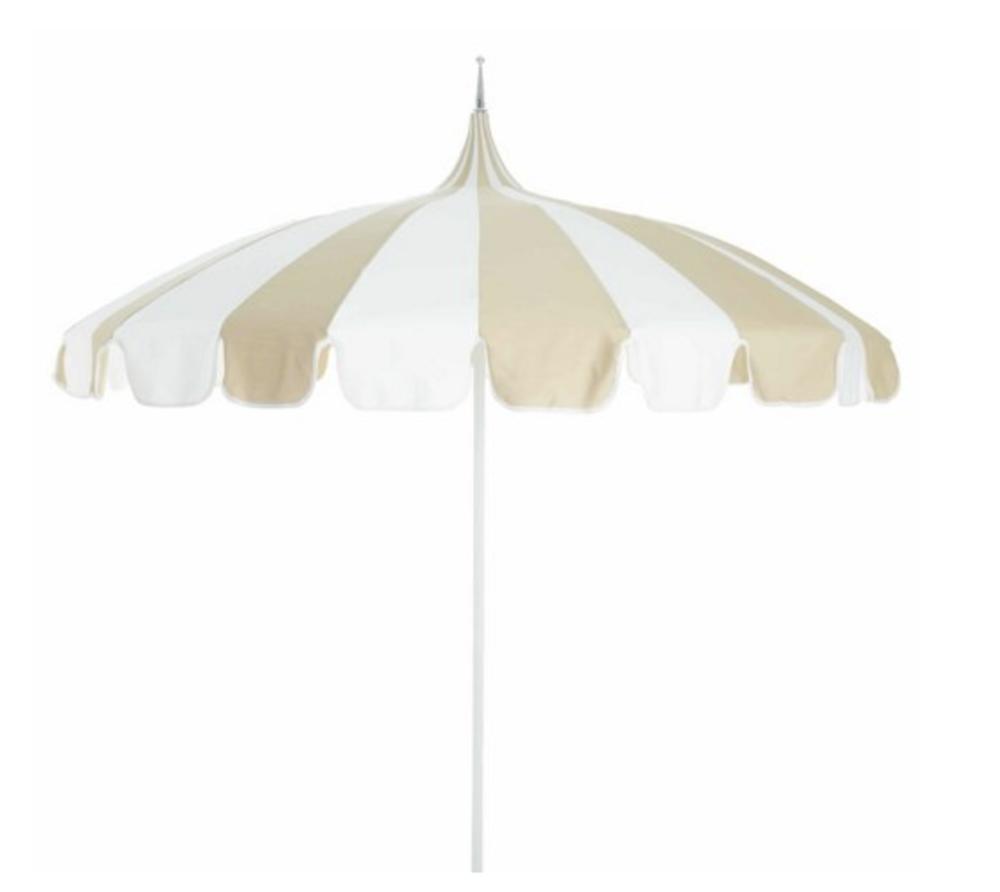 darling scalloped umbrella