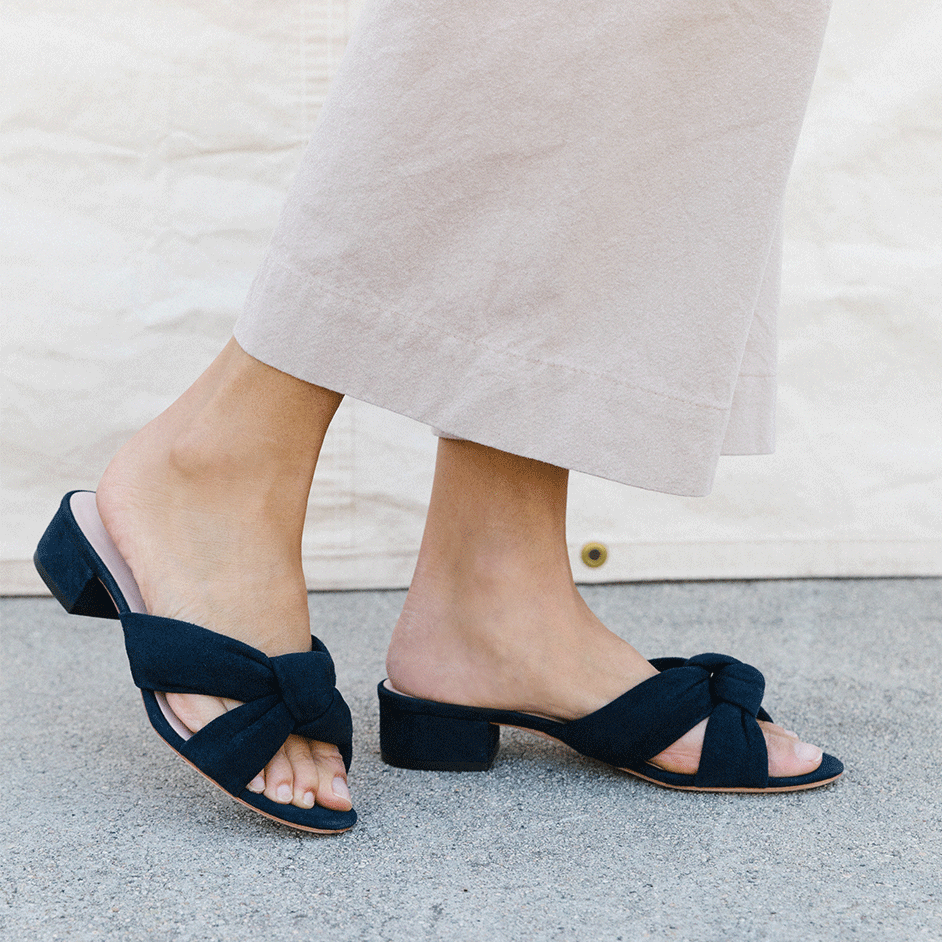 rey ruffle plank slide  – now 30% off at  loeffler randall !
