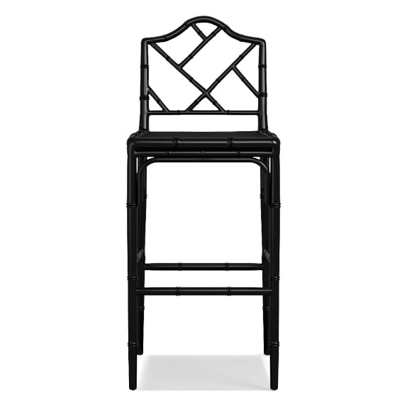 this fabulous black chippendale bar stool is over $200 less than the original price!