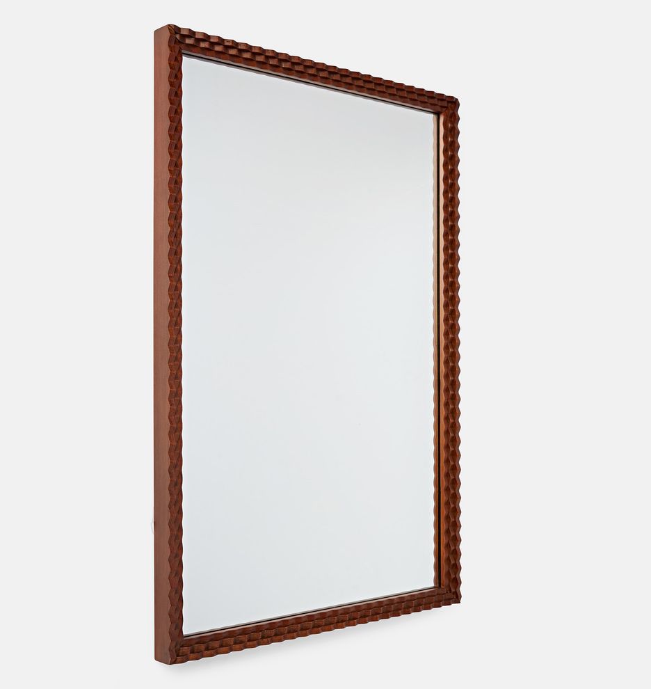 "this masculine mirror has ""study"" or ""game room"" written all over it – and it's only $182!"
