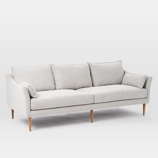 this relaxed sofa from west elm starts at only $899 – we're thinking it's time to start our living room upgrade!