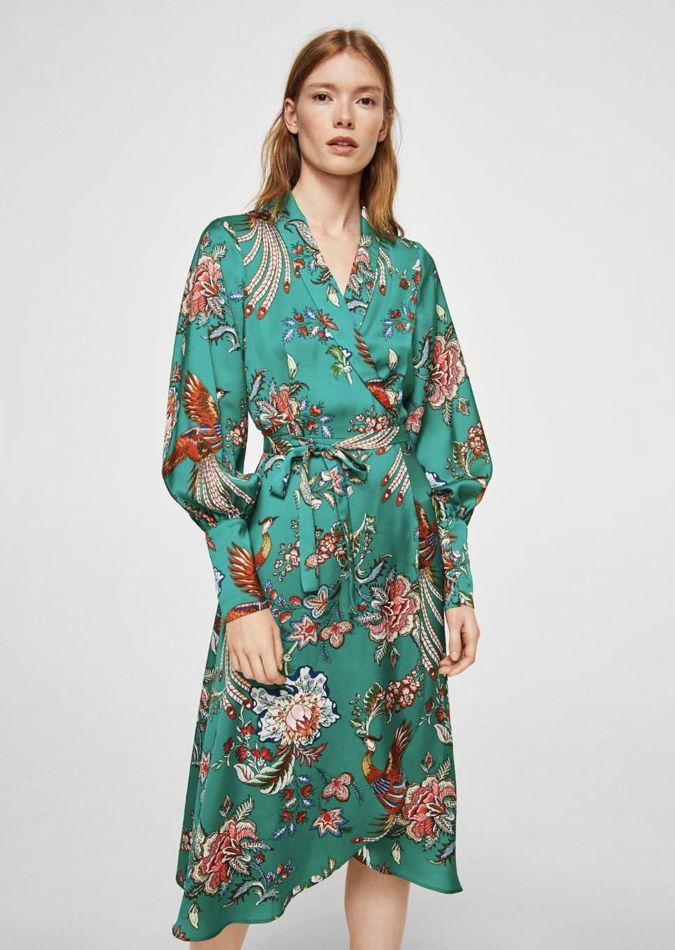 bow floral dress –$79.99