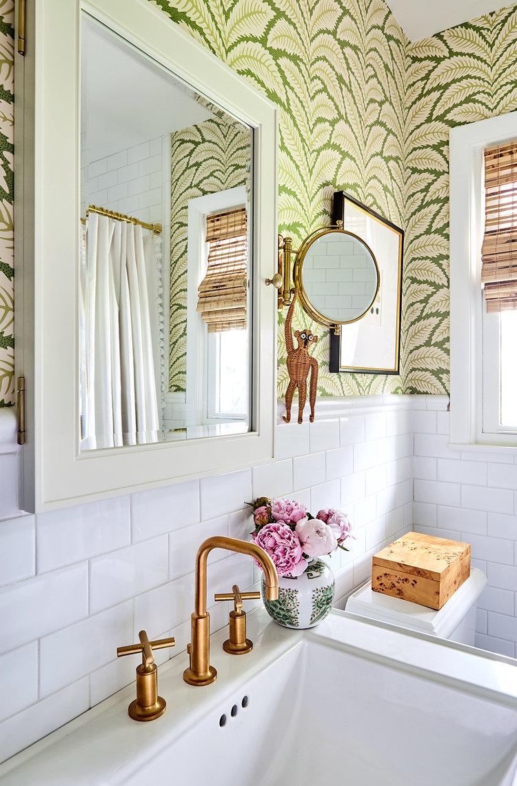 picture perfect: meg\'s bathroom AFTER! — Pencil & Paper Co.