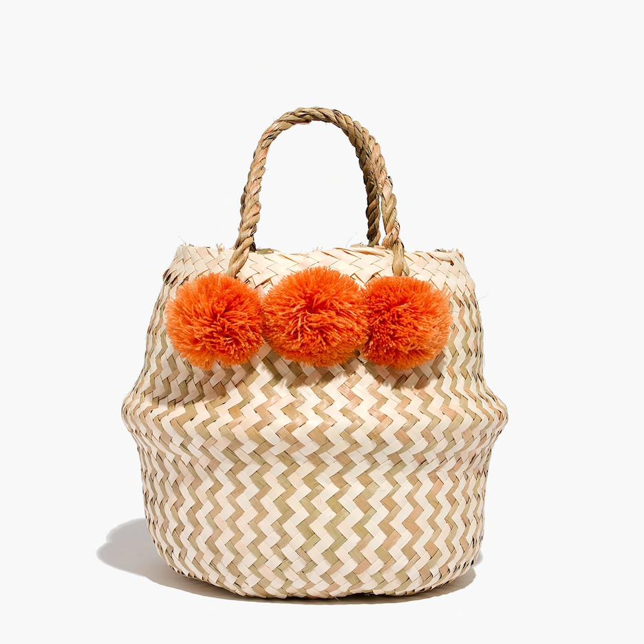 xinh & co. mini basket tote / madewell