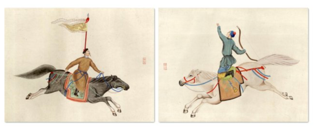 chinese warriors diptych / one kings lane