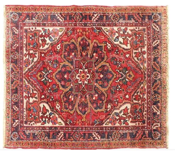 Vintage Persian Heriz Rug.jpeg