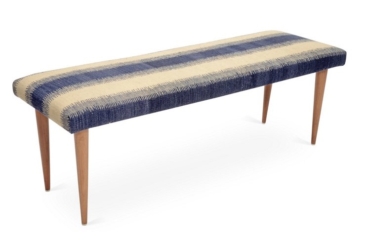 adolfo stripe kilim bench.jpeg