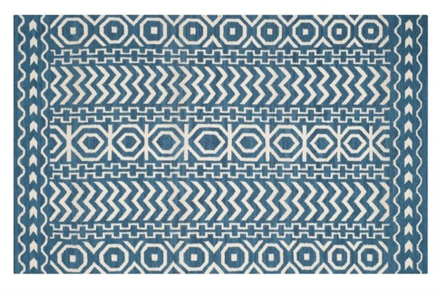 blue and white flat-weave rug.jpeg