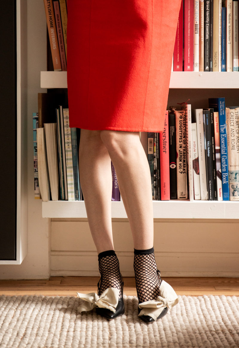 image via  frances valentine  ( grace bow kitten heels )