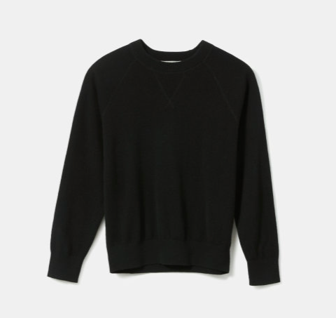 this under $100  cashmere sweater  from  everlane  is part of our  cold weather uniform !
