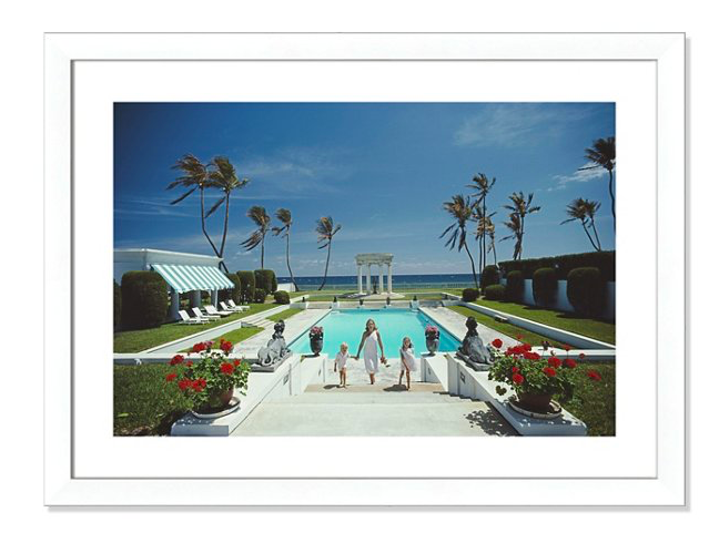 you know we're always swooning over  slim Aarons
