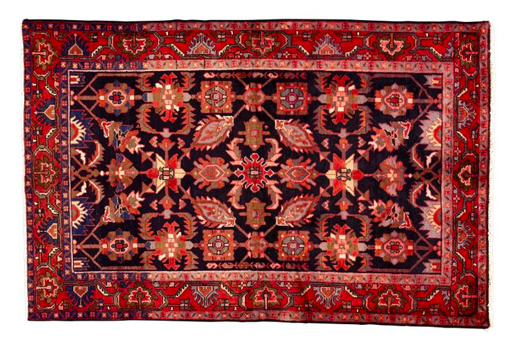 this jewel tone  vintage Persian rug  has stolen our hearts! it's currently 20% off!
