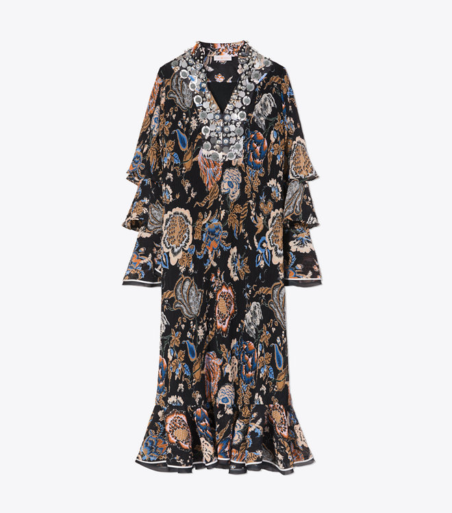 how darling are the tiered sleeves on this  dress ?