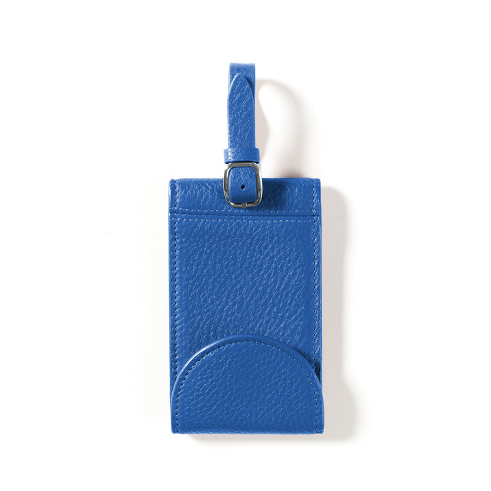 Spring has been a busy season of  traveling  for us! Thankfully, we have this  cobalt luggage tag  to make it easy for us to spot our  luggage . Oh, and did we mention you can add a personal touch with your hand-painted monogram initials?