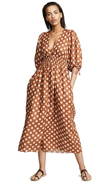 we always feel prettiest in pattern - snap up this  polka dot piece  while it's on sale!