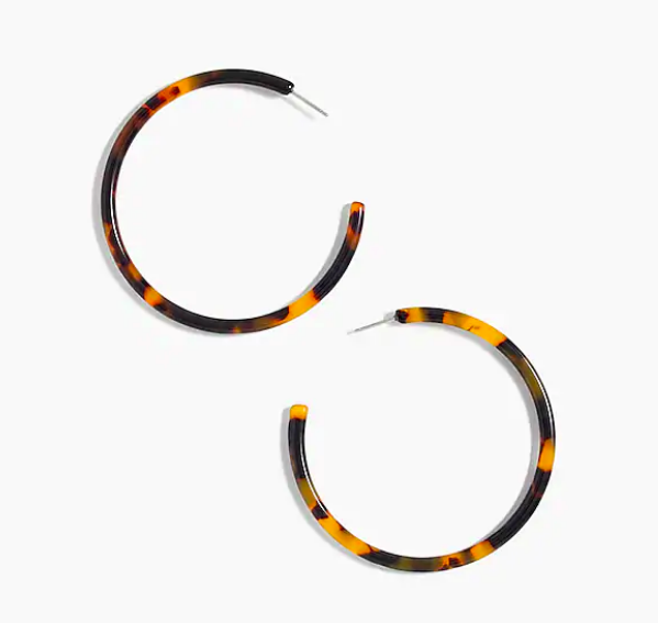 snap up our go to  tortoise hoops  for under $20!