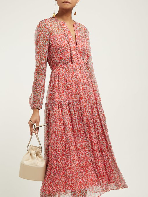 we always feel prettiest in pattern and this  poppy print dress  is no exception!