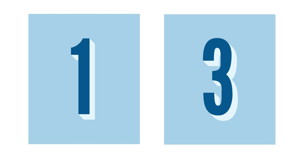 numbers  are ideal for a milestone, anniversary, or birthday celebration!