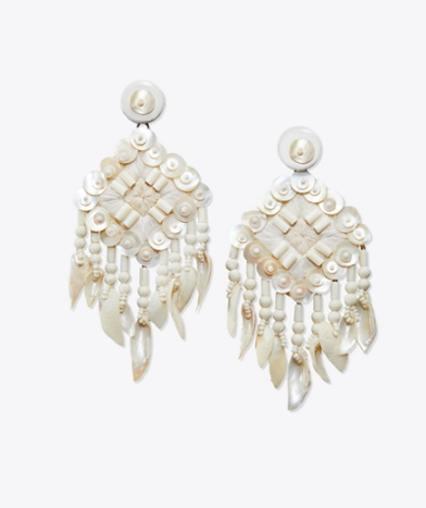 our go-to  shell earrings  are on sale for just $69!