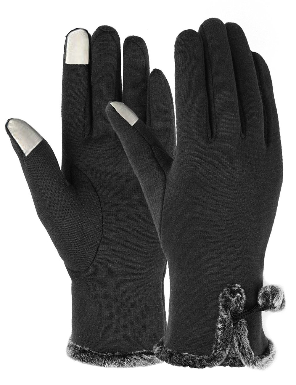 Fleece Smartphone Touch Gloves
