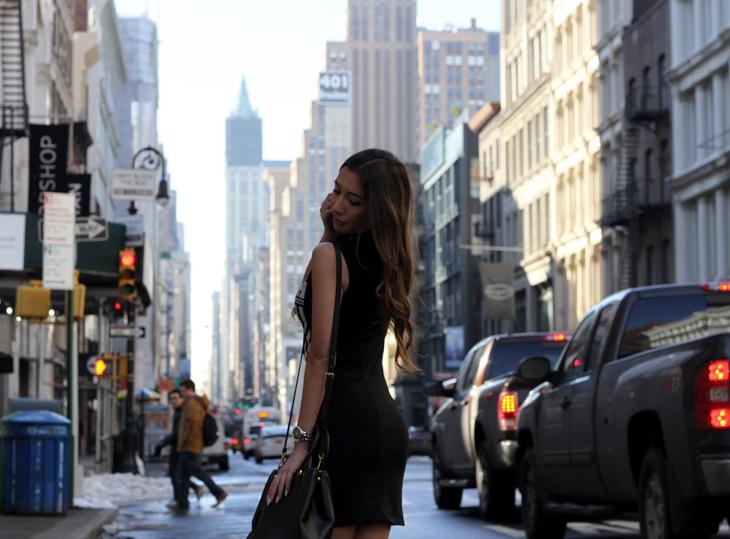 New York City top fashion blogger Ulia Ali from pastiche.today