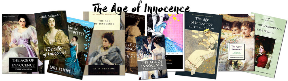 he Age of Innocence Book covers