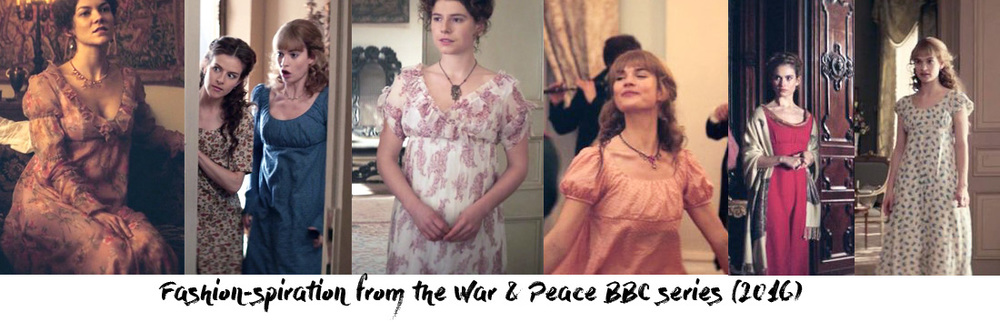 The screens from the series taken from another wonderful blog  Frock&Flicks