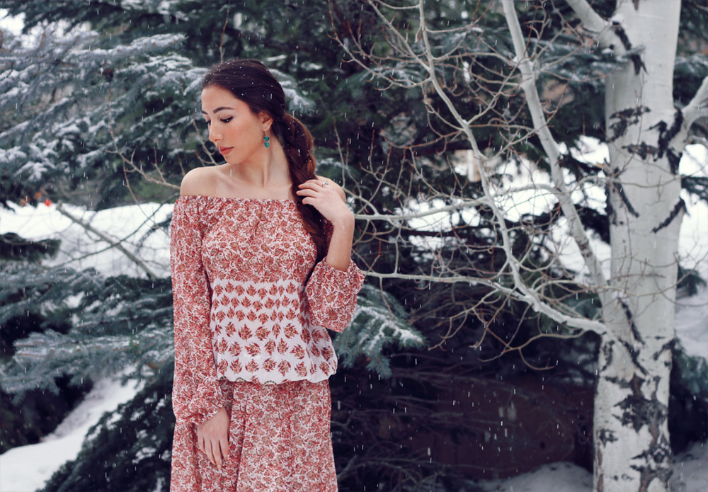 Ulia Ali - top fashion blogger in New York and Utah.