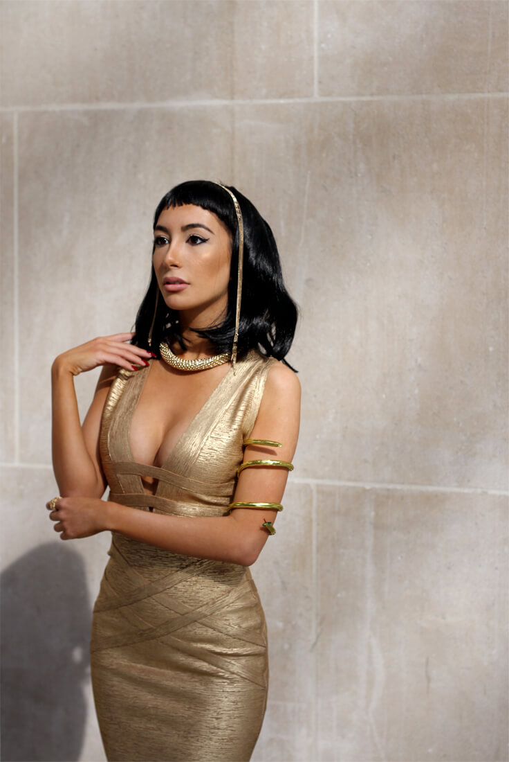 Ulia Ali as Cleopatra