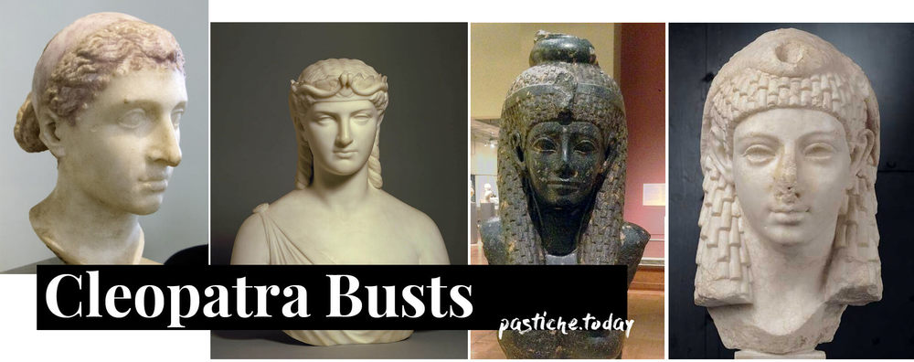 Busts of Cleopatra. Art