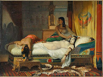 Cleopatra's Last Moments   by  D. Pauvert   It was previously owned by  M  ichael Jackson