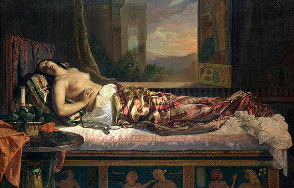 The Death Of Cleopatra   by  German von Bohn