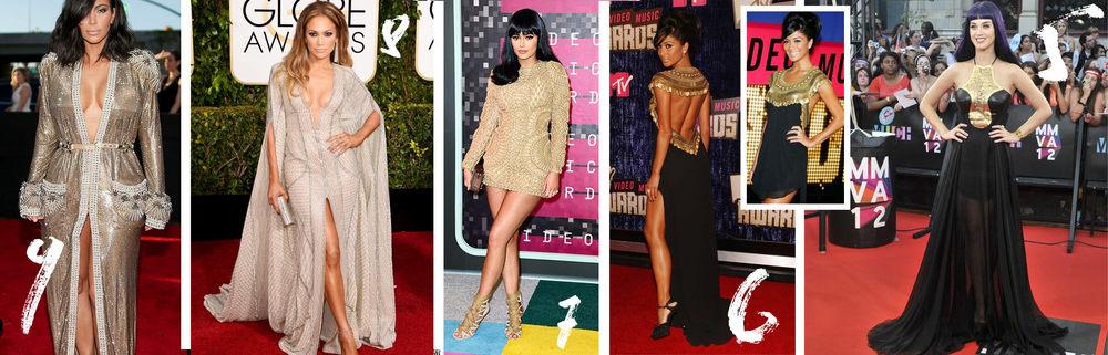 9. Kim Kardashian 8. Jennifer Lopez 7. Kylie Jenner 6. Nicole Scherzinger 5. Katy Perry