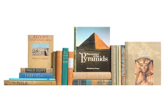 Egypt books set