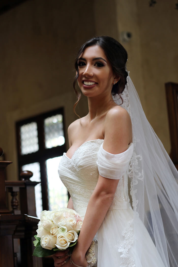 Beautiful bride from Azerbaijan, Baku. Wedding in California