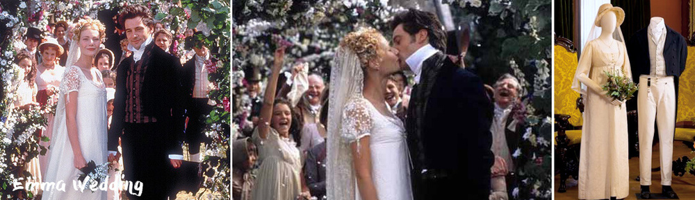 Best Film Weddings including adaptation of Emma by Jane Austen