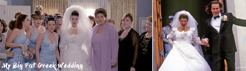 My Big Fat Greek Wedding movie dress