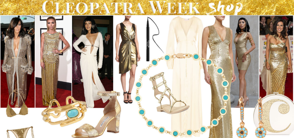 Get Cleopatra Look. Golden Fashion Style of the Egyptian Queen