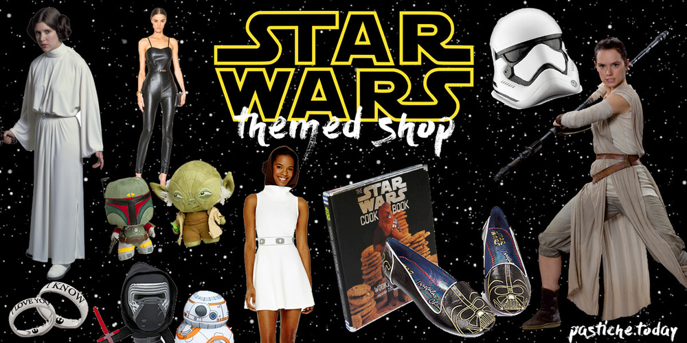 weekly themed shop. star wars fashion and gifts