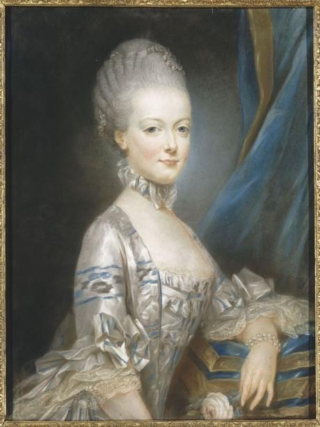 Portrait of Archduchess Marie-Antoinette by  Joseph Ducreux , 1769